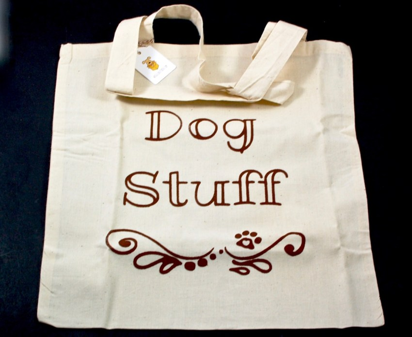 dog stuff tote