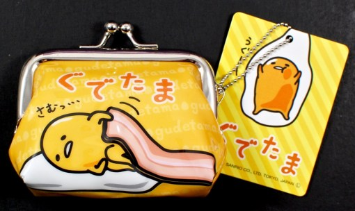 Gudetama coin purse