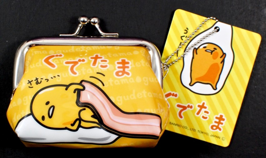 Gudetama coin purse