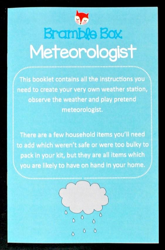 Meteorologist bramble box