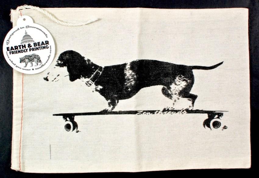 dachshund drawstring bag