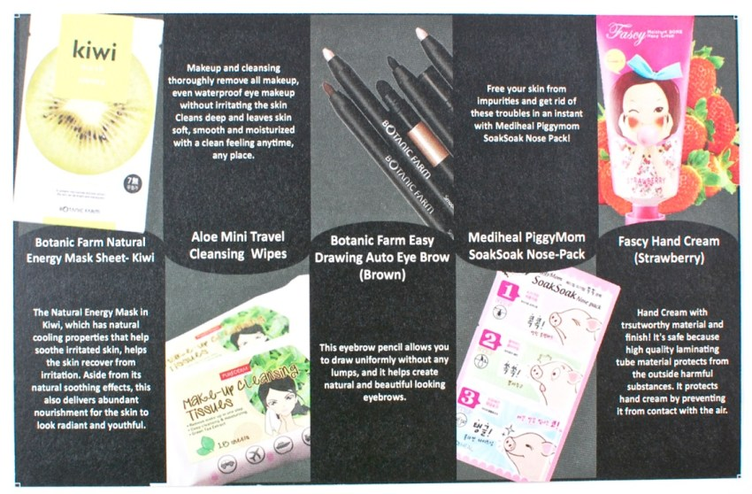 June 2016 EsianMall k-beauty review