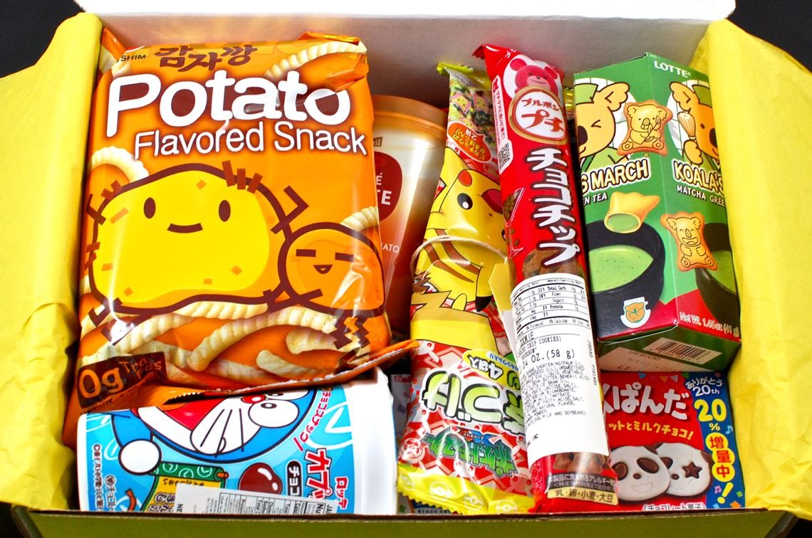esianmall-snack-box-june-2016 - 3 & EsianMall June 2016 Asian Snack Box Review - 2 Little Rosebuds Aboutintivar.Com