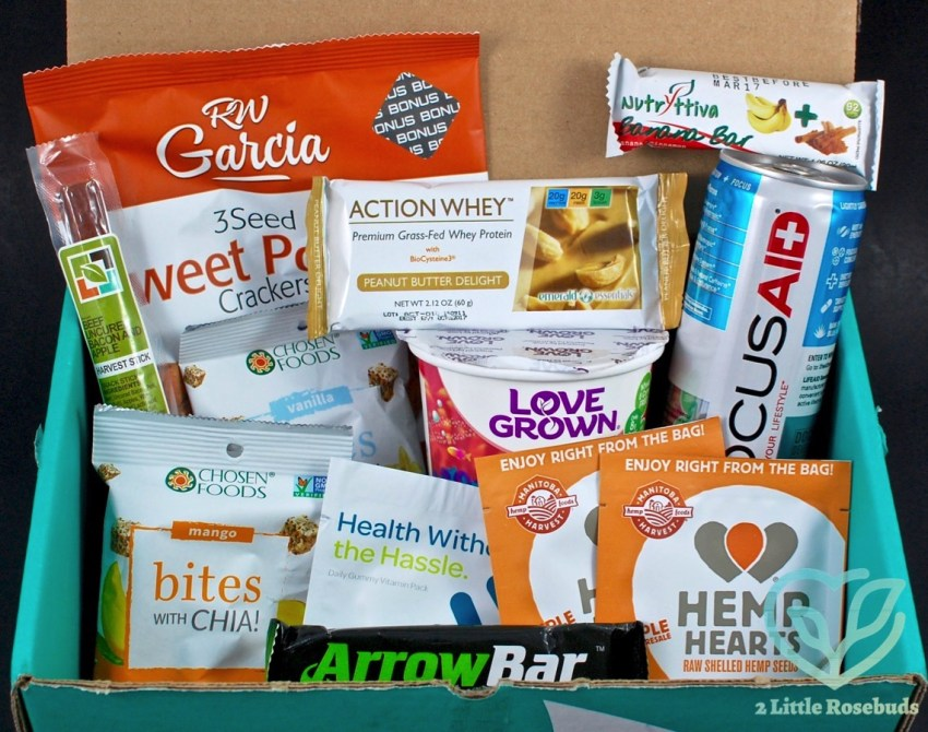 July 2016 Fit Snack review
