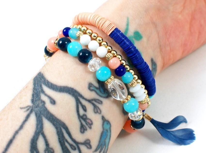 Hello Bliss box bracelets