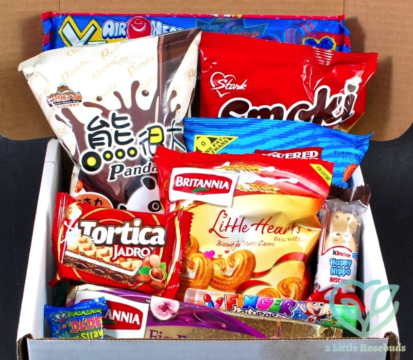 July 2016 Munchpak review