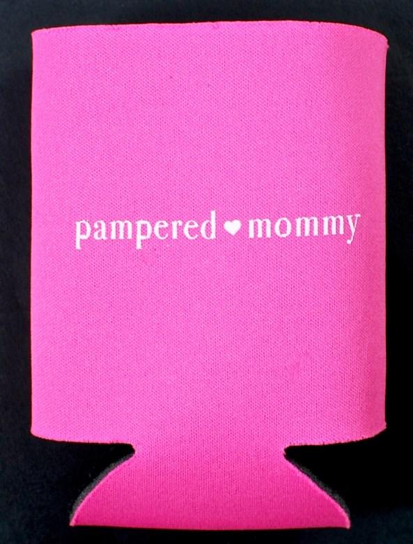pampered mommy koozie