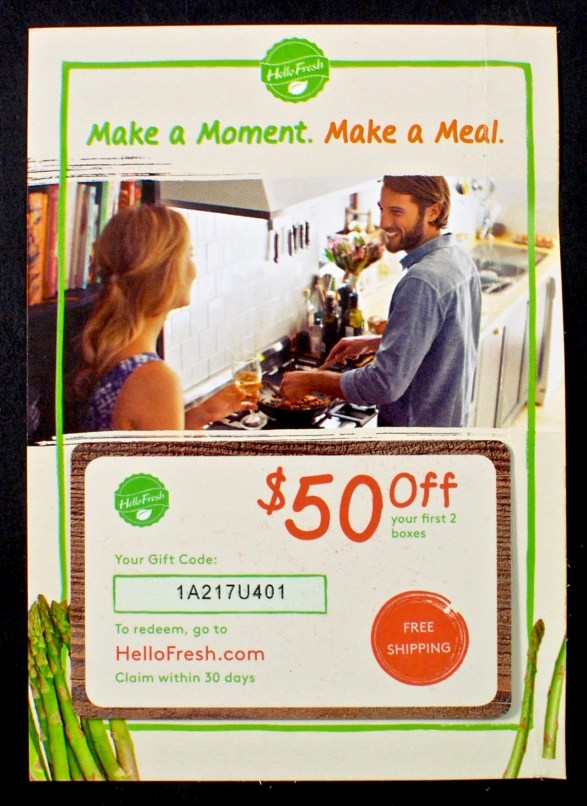 Hello Fresh coupon