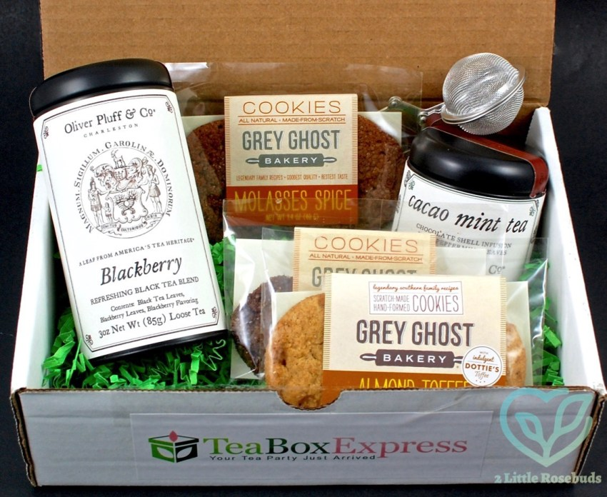 Tea Box Express July 2016 Tea Subscription Box Review & Coupon Code