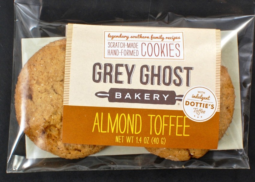 Grey Ghost almond toffee cookies