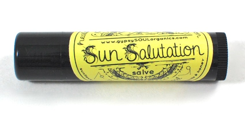 Gypsy Soul sun salutation salve