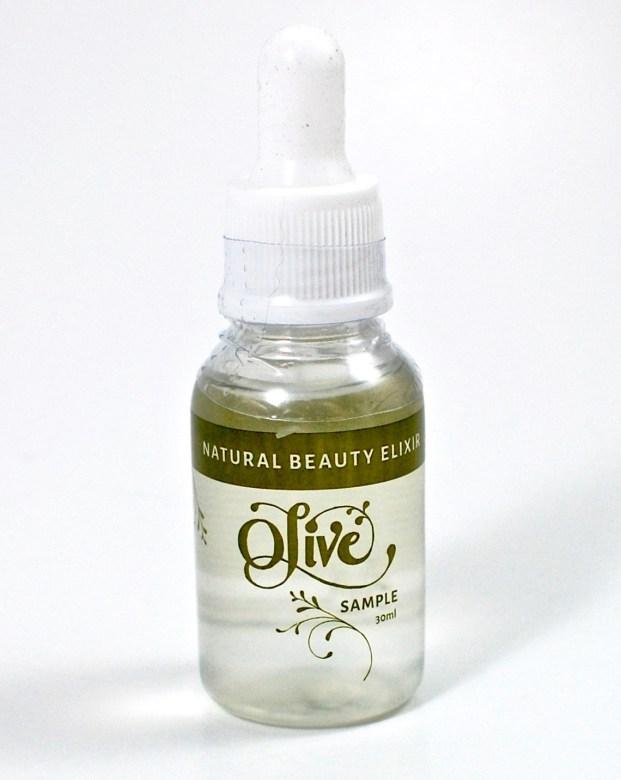 olive natural beauty elixir