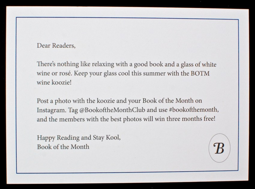 Book of the Month bonus