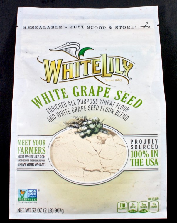 white lily white grape seed flour