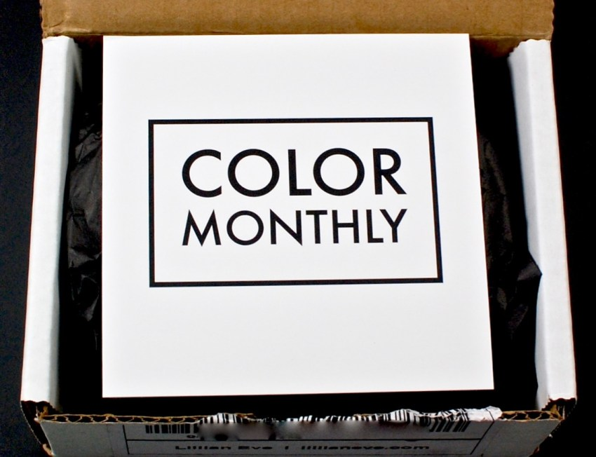 Color Monthly by Lillian Eve review