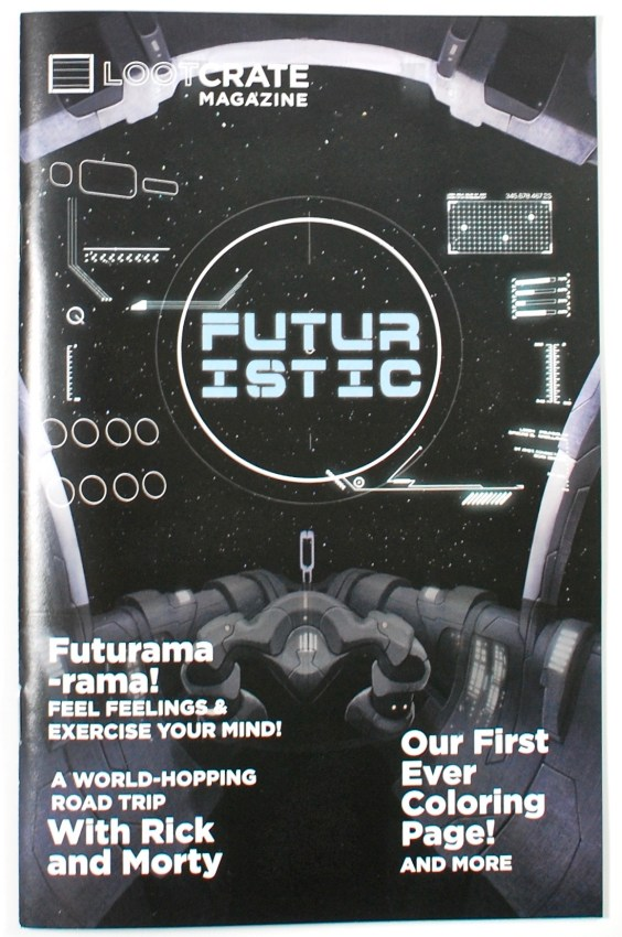 Loot Crate Futuristic review