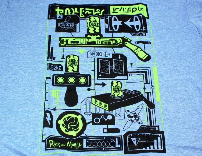 Loot Crate Rick and Morty shirt