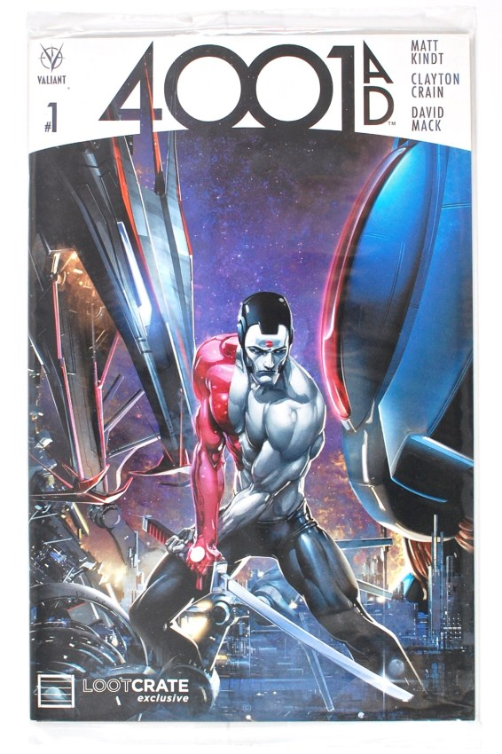 Valiant Comics 4001 A.D. #1