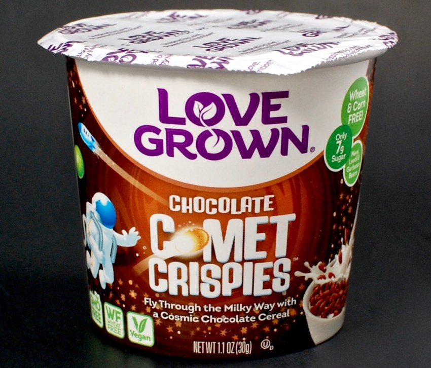 Love Grown comet crispies