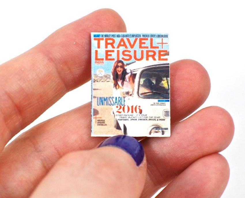 Travel & Leisure miniature magazine