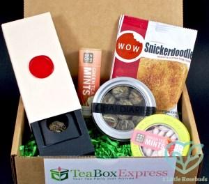 Tea Box Express August 2016 Tea Subscription Box Review & Coupon Code