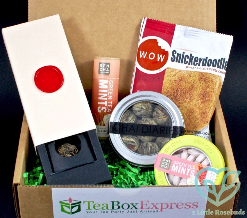 Tea Box Express August 2016 Tea Subscription Box Review & Coupon Code