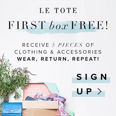 Le Tote free box