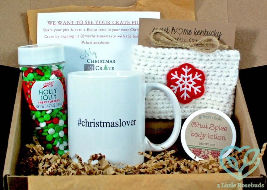 My Christmas Crate August 2016 Subscription Box Review & Coupon