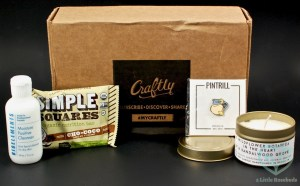 Craftly September 2016 Subscription Box Review