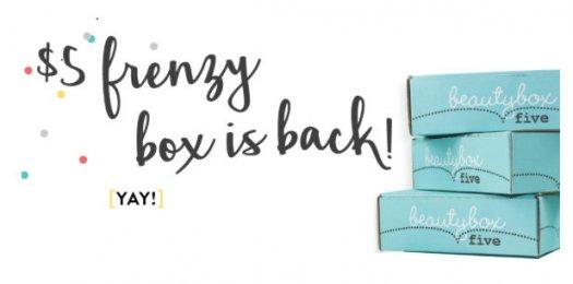 Beauty Box 5 coupons