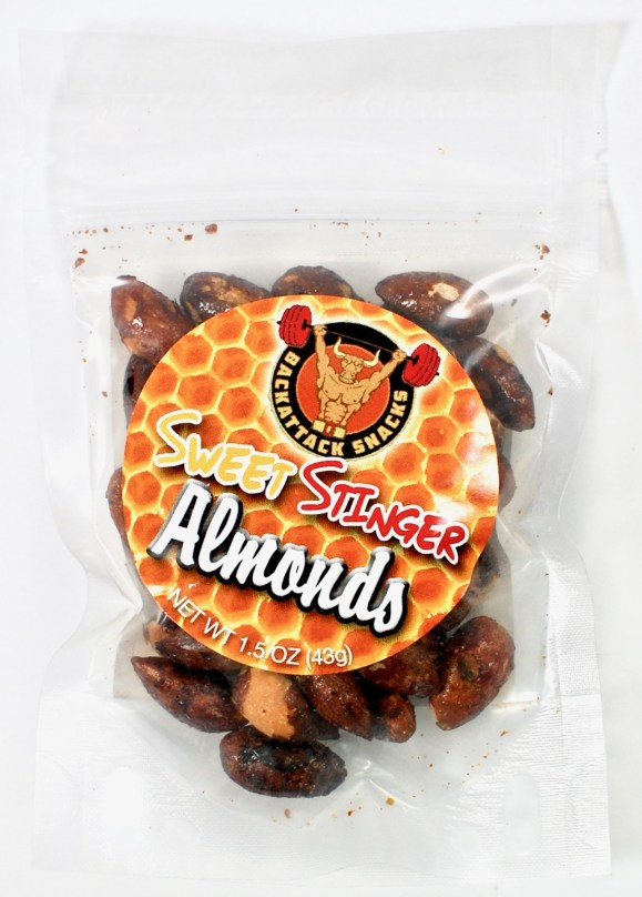 Back Attack snack almonds