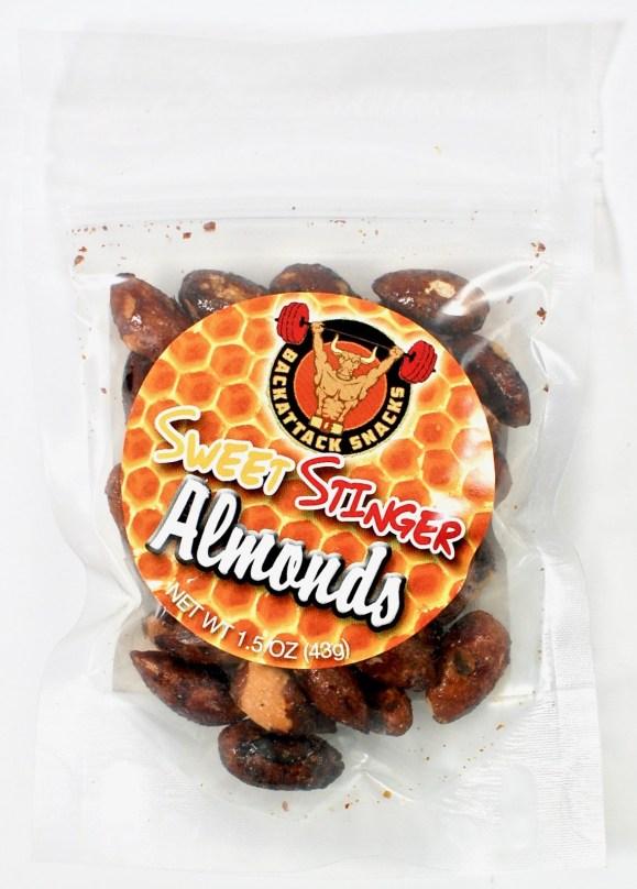 Back Attack snack almonds