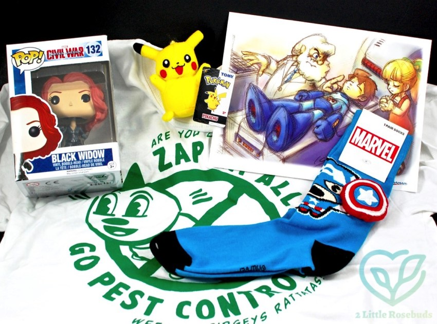 August 2016 My Geek Box review