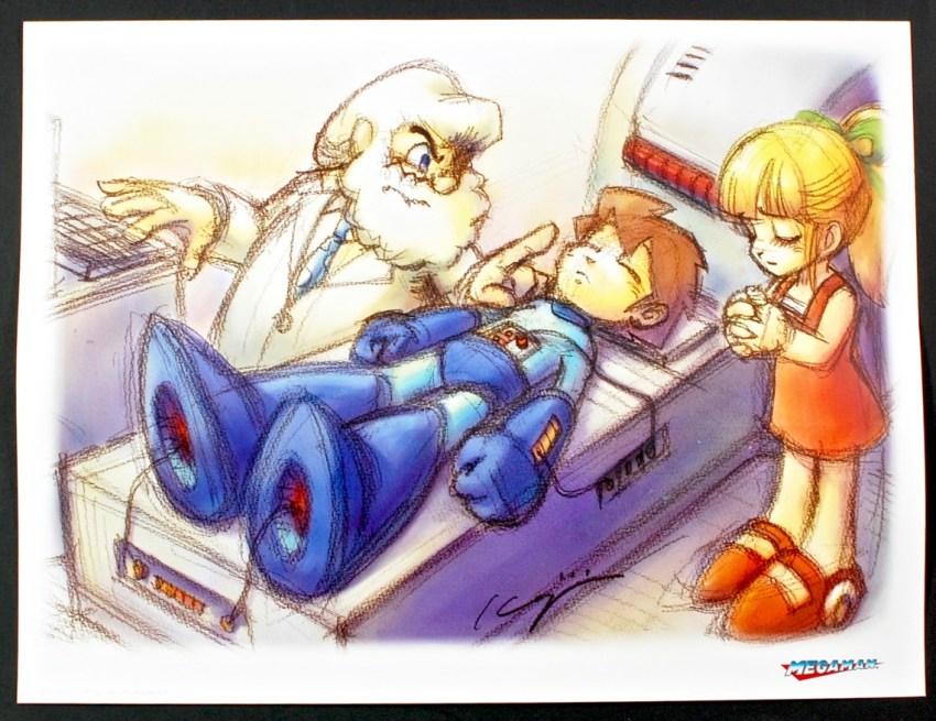 Megaman print