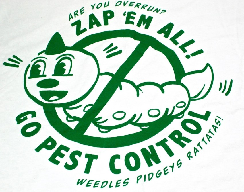 Pokemon Go Pest Control shirt