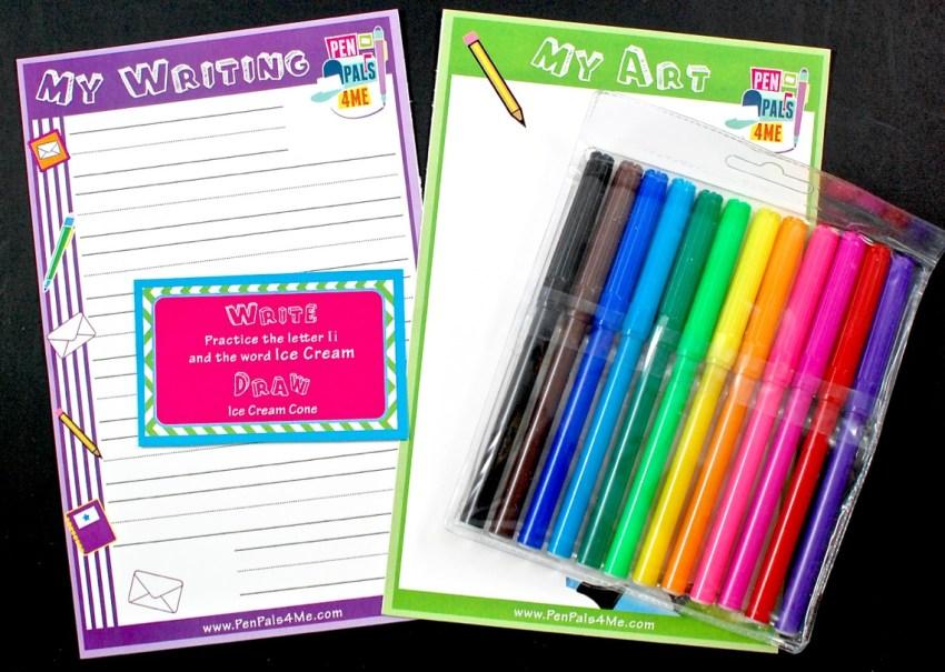 pen pals box