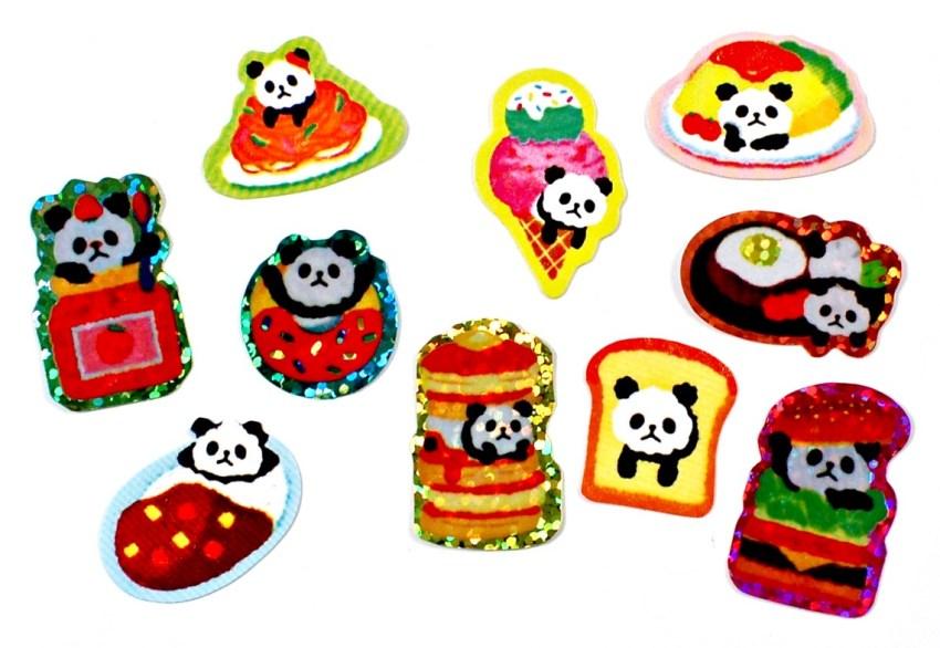 Stickii panda stickers