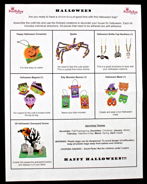 Halloween Doodlebug Busy Bag