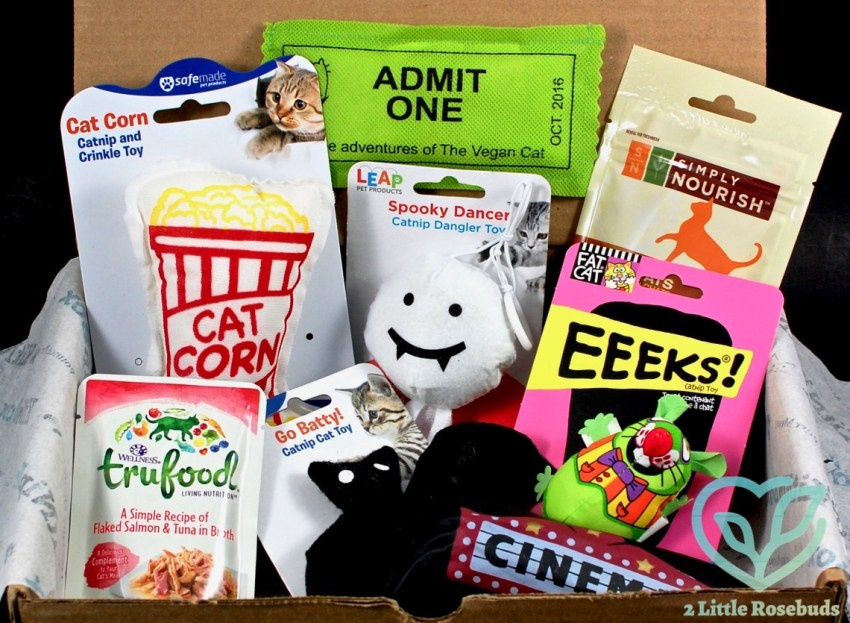 KitNipBox October 2016 Cat Subscription Box Review & Coupon Code