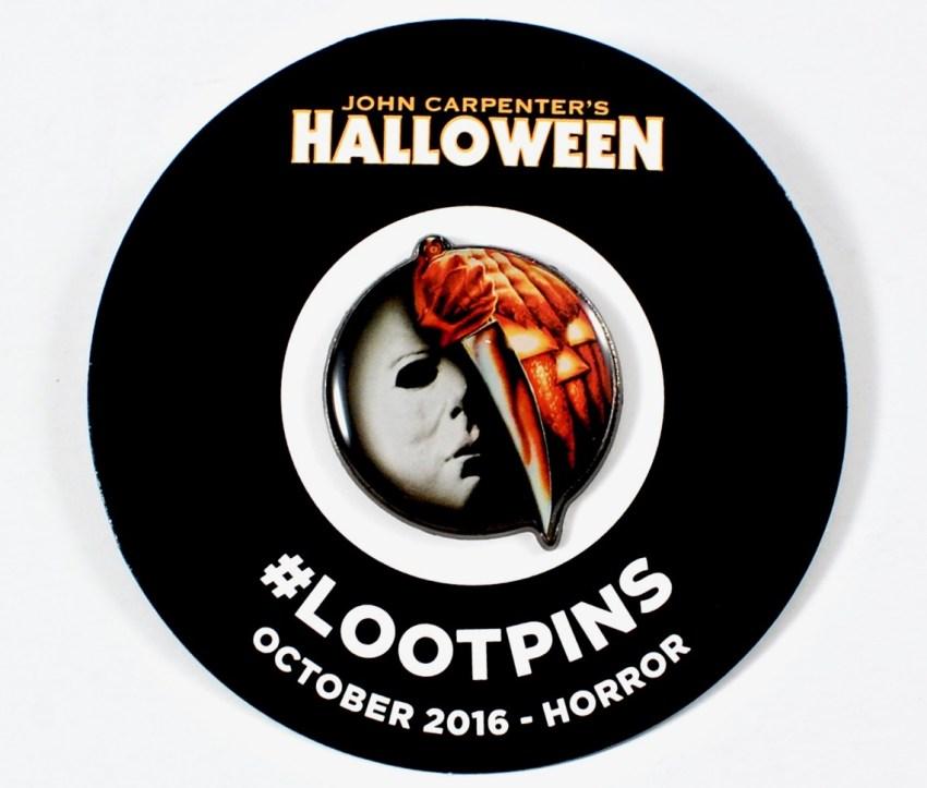 Halloween Loot Crate pin