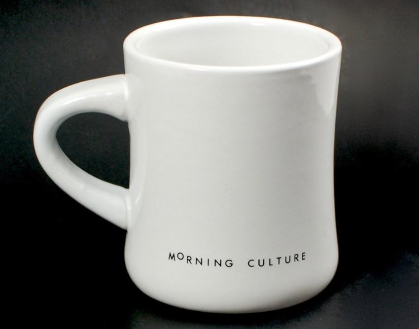 Morning Culture mug