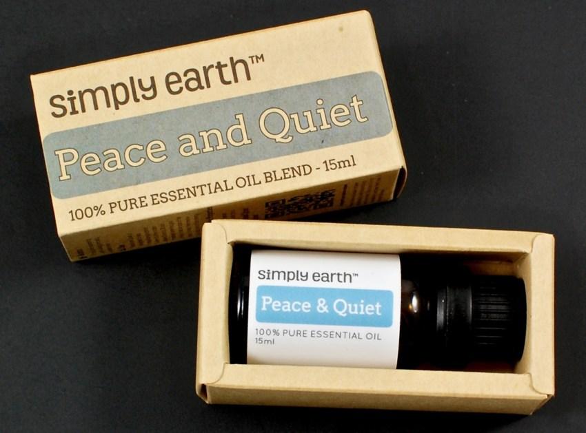 peace and quiet essential oil