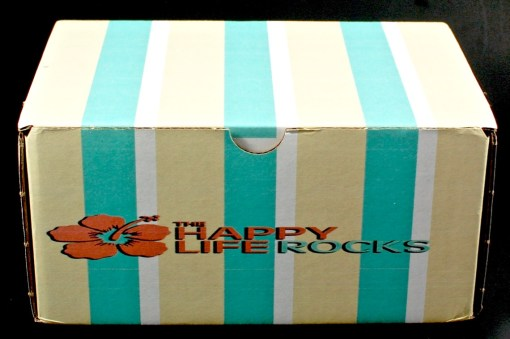 The Happy Life Rocks box