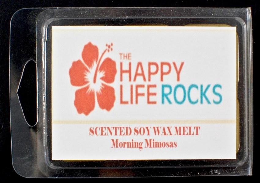 morning mimosa wax tarts