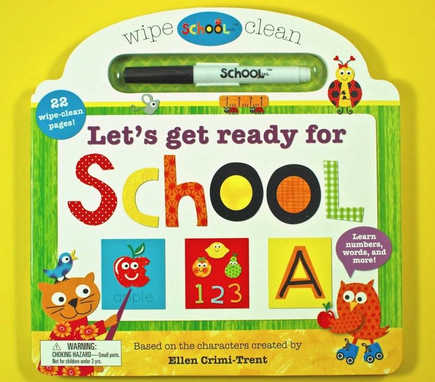 schoolies dry erase book