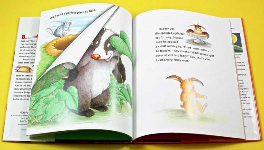 Badger's Fancy Meal book