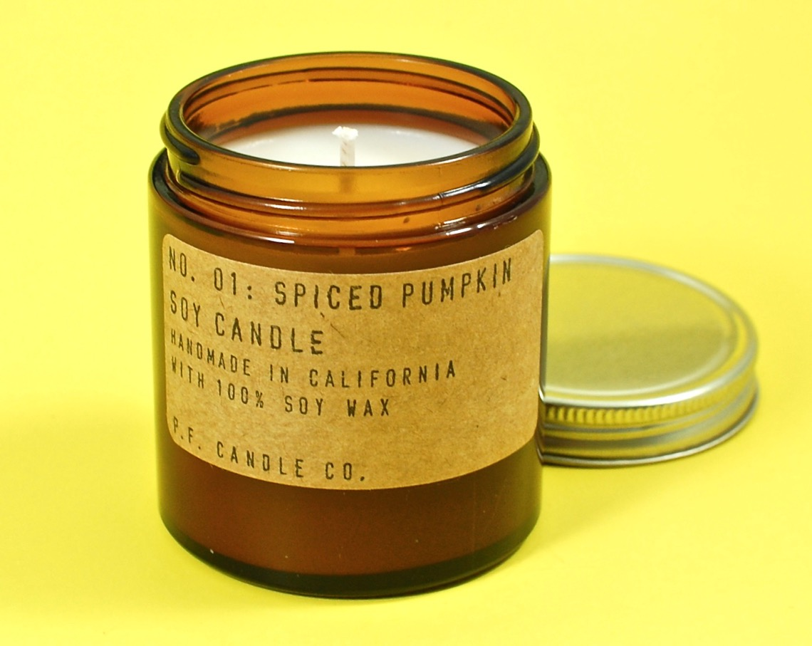 P F Candle Co pumpkin spice