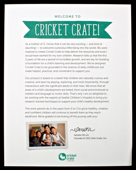 Cricket Crate box