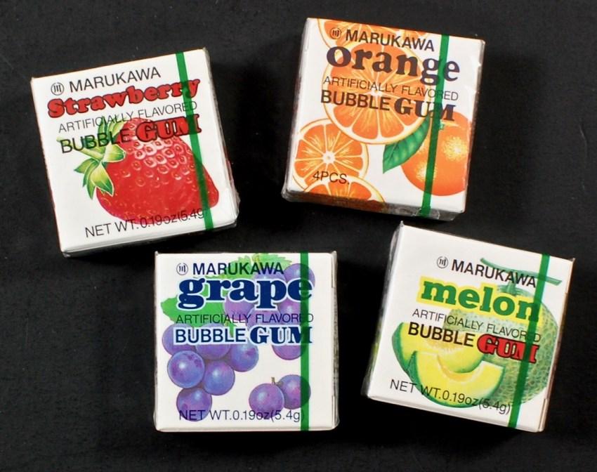flavored gum