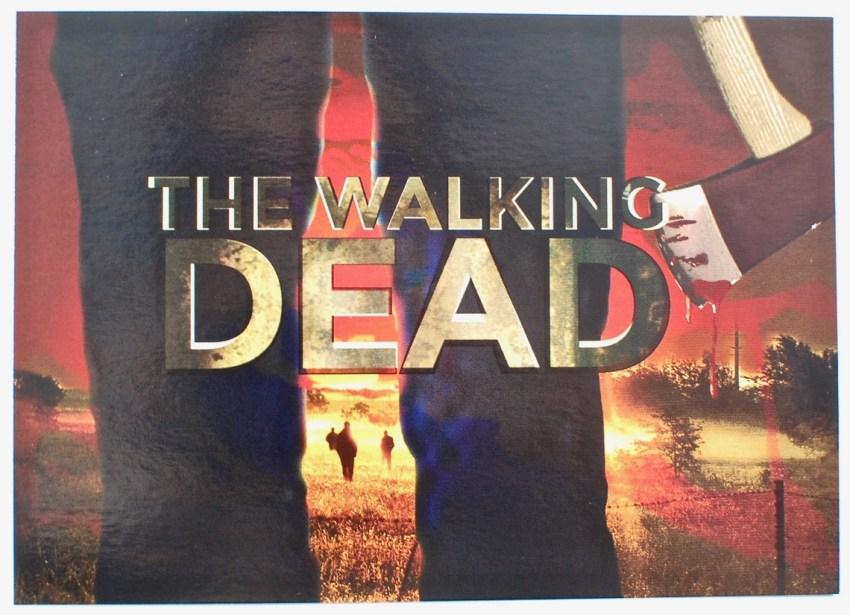 Walking Dead snack box